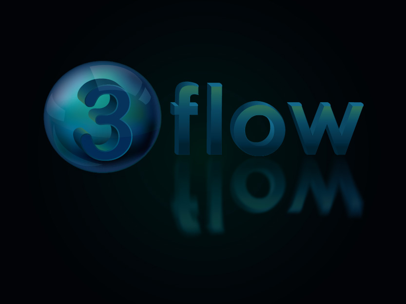 Logo Design by Private User - Entry No. 94 in the Logo Design Contest Fun Logo Design for 3flow.