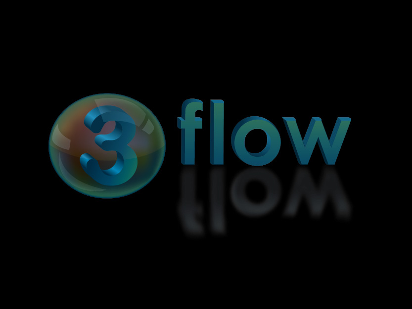 Logo Design by Private User - Entry No. 95 in the Logo Design Contest Fun Logo Design for 3flow.