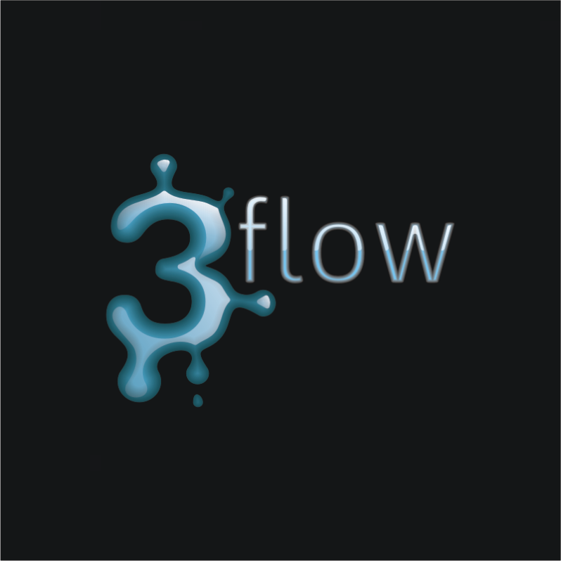 Logo Design by Private User - Entry No. 97 in the Logo Design Contest Fun Logo Design for 3flow.