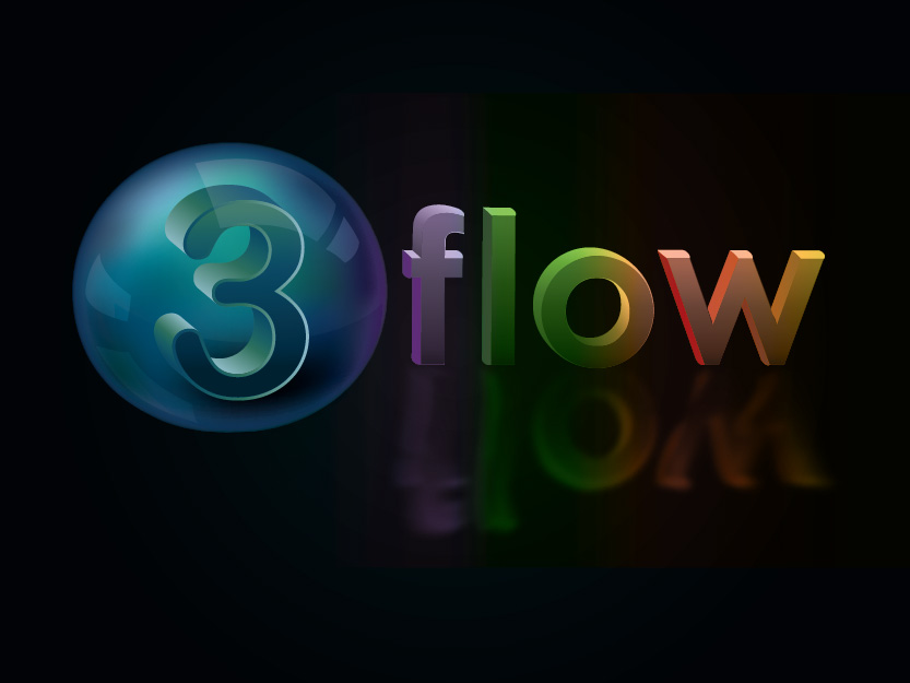 Logo Design by Private User - Entry No. 102 in the Logo Design Contest Fun Logo Design for 3flow.