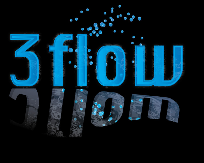 Logo Design by Diana Roder - Entry No. 108 in the Logo Design Contest Fun Logo Design for 3flow.