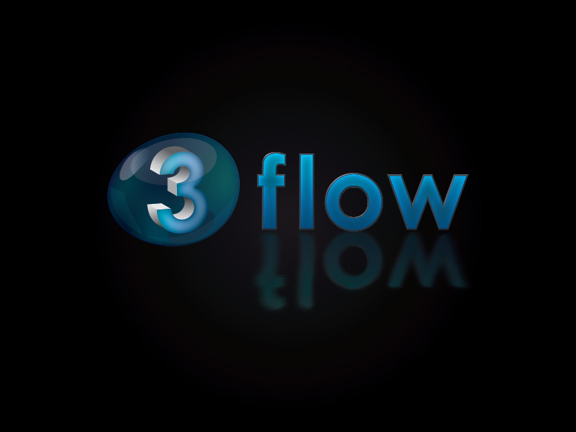 Logo Design by Private User - Entry No. 117 in the Logo Design Contest Fun Logo Design for 3flow.