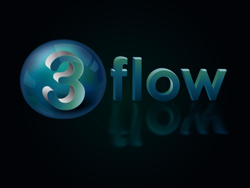 Logo Design by Private User - Entry No. 118 in the Logo Design Contest Fun Logo Design for 3flow.