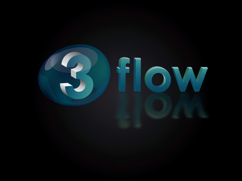 Logo Design by Private User - Entry No. 119 in the Logo Design Contest Fun Logo Design for 3flow.