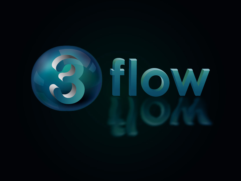 Logo Design by Private User - Entry No. 120 in the Logo Design Contest Fun Logo Design for 3flow.