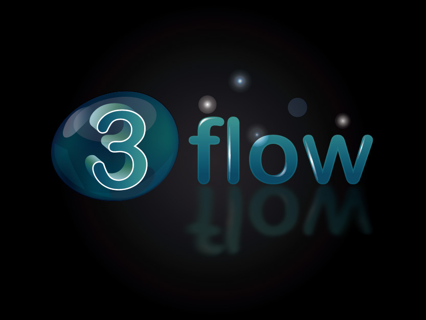 Logo Design by Private User - Entry No. 121 in the Logo Design Contest Fun Logo Design for 3flow.
