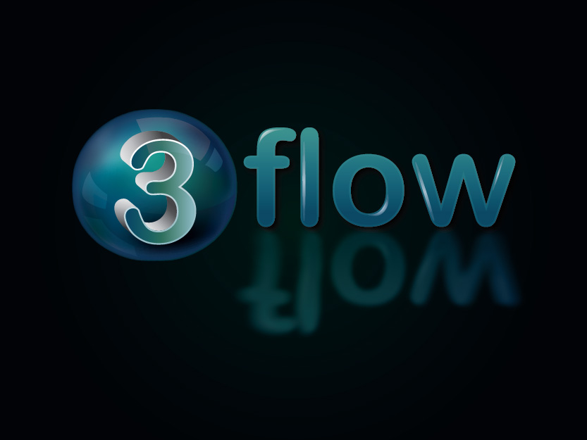 Logo Design by Private User - Entry No. 122 in the Logo Design Contest Fun Logo Design for 3flow.