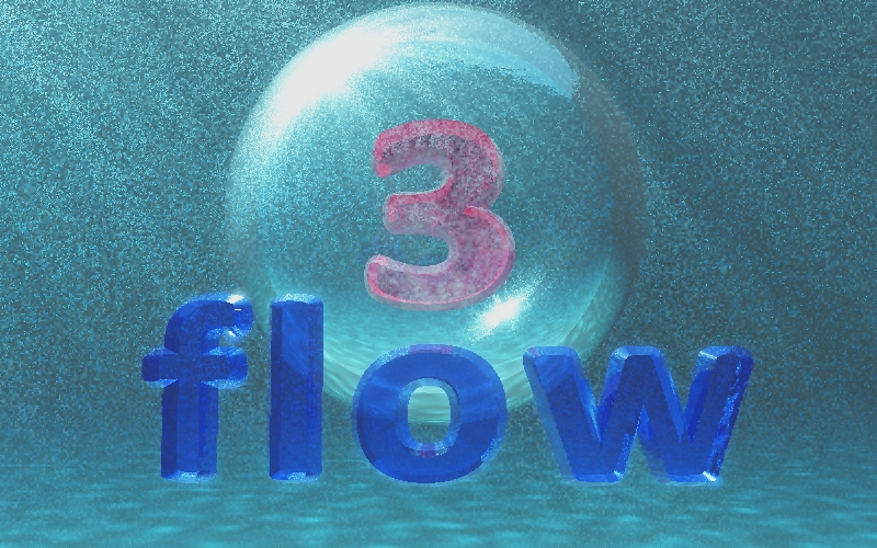 Logo Design by illusionist - Entry No. 128 in the Logo Design Contest Fun Logo Design for 3flow.