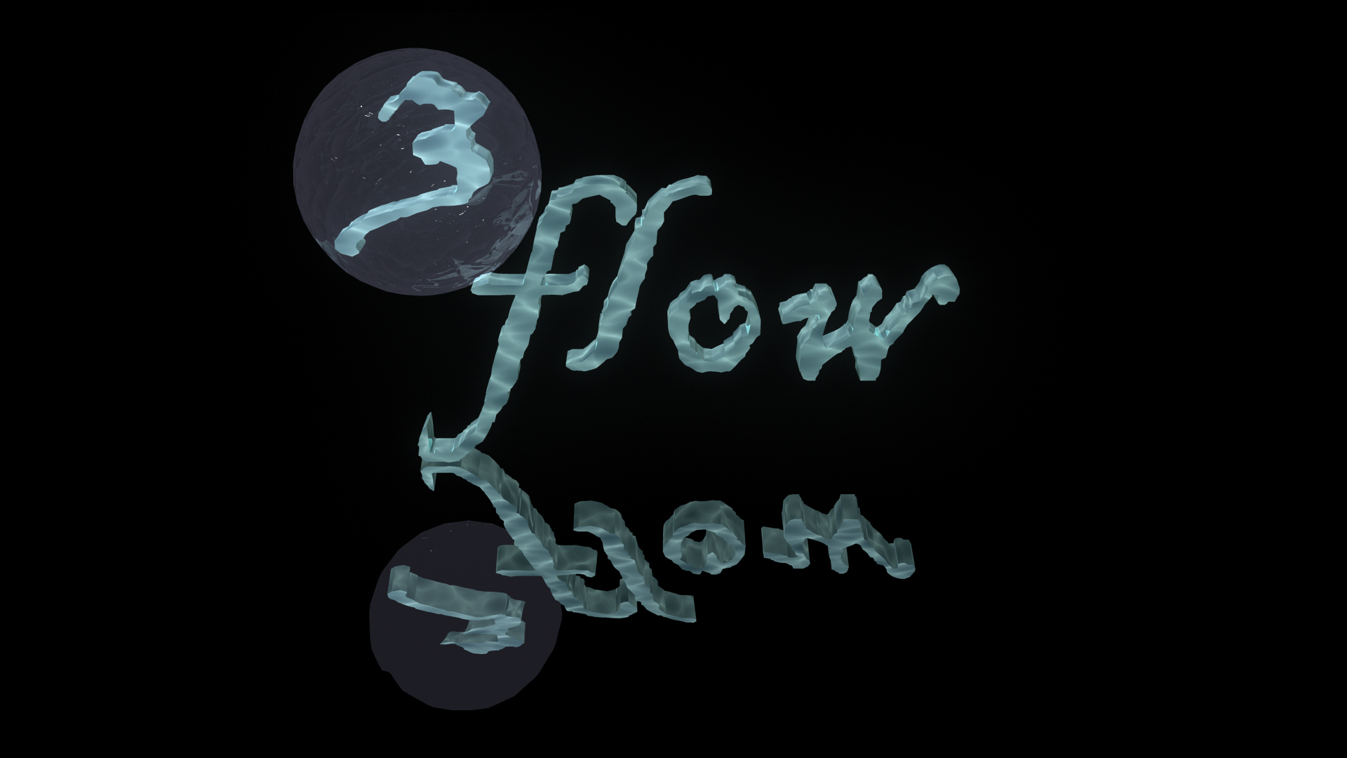 Logo Design by zigzag91 - Entry No. 130 in the Logo Design Contest Fun Logo Design for 3flow.