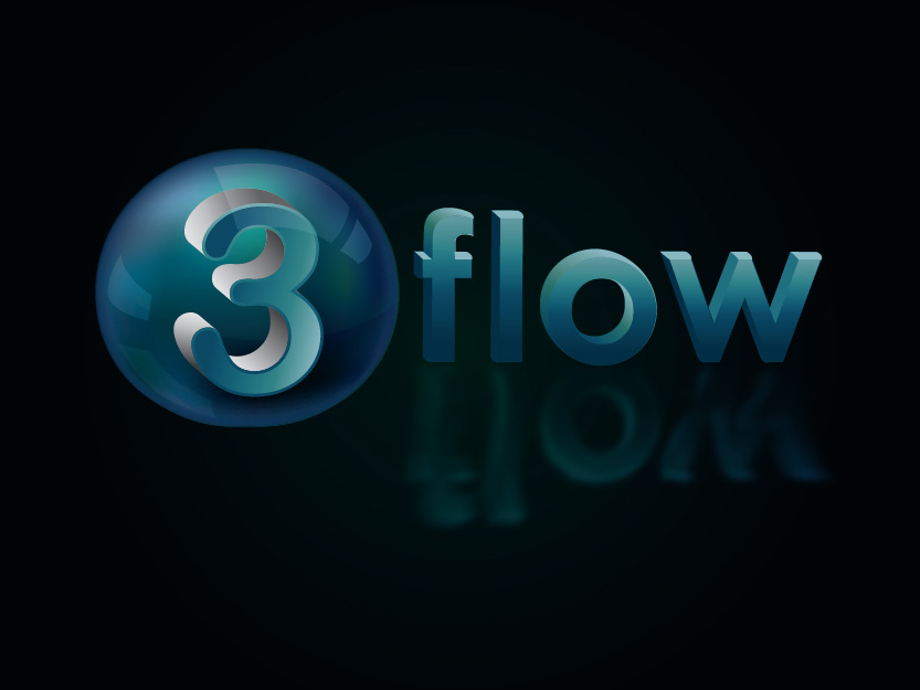 Logo Design by Private User - Entry No. 135 in the Logo Design Contest Fun Logo Design for 3flow.
