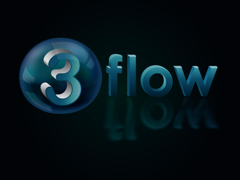 Logo Design by Private User - Entry No. 136 in the Logo Design Contest Fun Logo Design for 3flow.