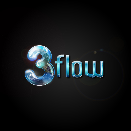 Logo Design by SilverEagle - Entry No. 137 in the Logo Design Contest Fun Logo Design for 3flow.