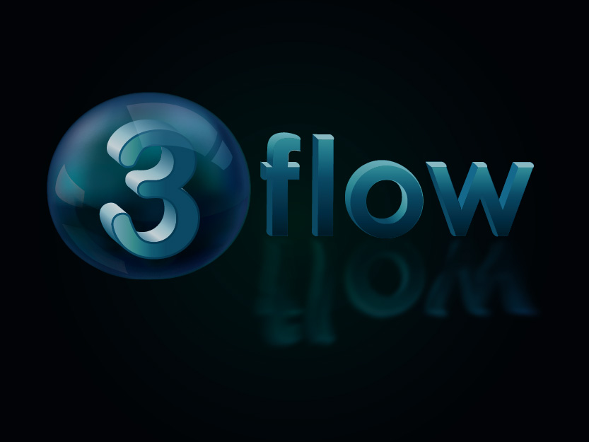 Logo Design by Private User - Entry No. 138 in the Logo Design Contest Fun Logo Design for 3flow.