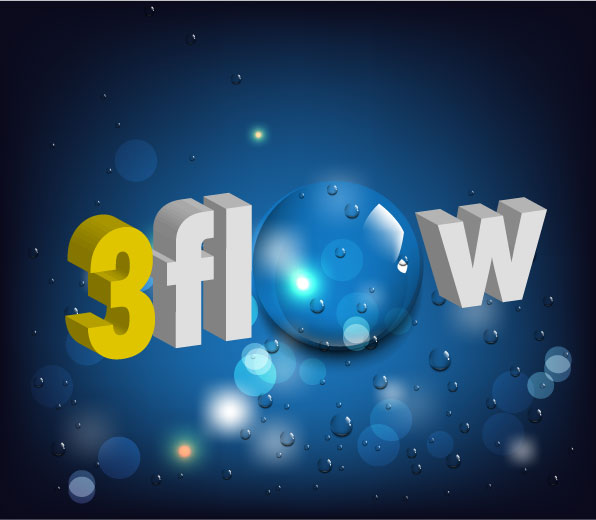 Logo Design by Private User - Entry No. 141 in the Logo Design Contest Fun Logo Design for 3flow.