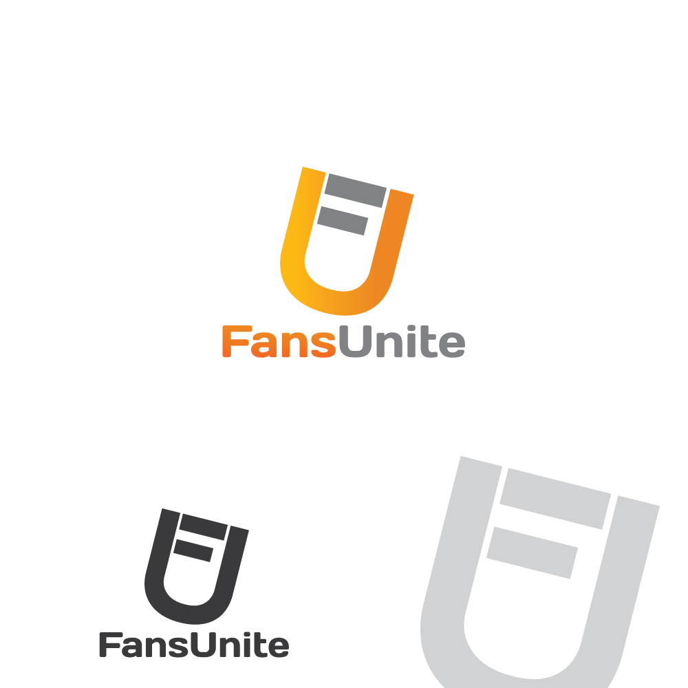 Logo Design by rockin - Entry No. 9 in the Logo Design Contest Logo Design Needed for Exciting New Company FansUnite.