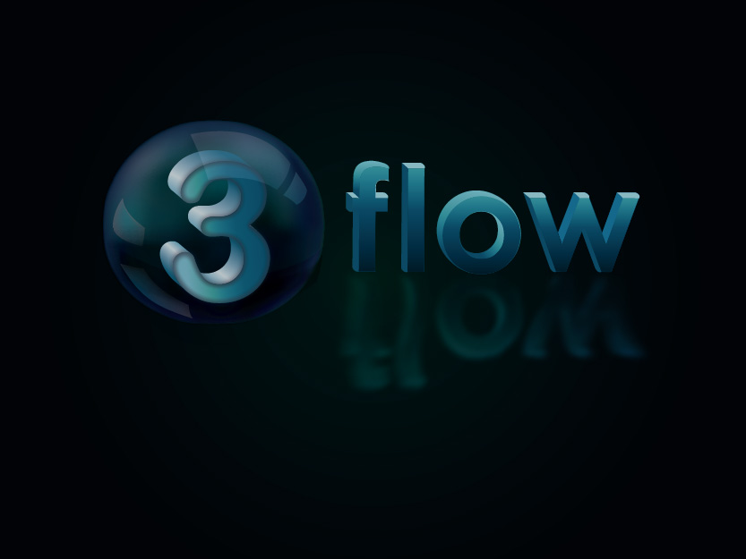 Logo Design by Private User - Entry No. 150 in the Logo Design Contest Fun Logo Design for 3flow.