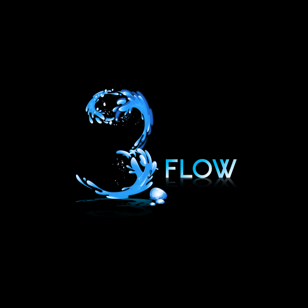 Logo Design by storm - Entry No. 151 in the Logo Design Contest Fun Logo Design for 3flow.