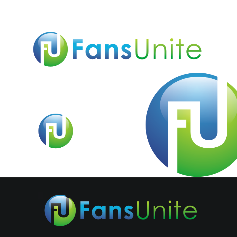 Logo Design by Private User - Entry No. 16 in the Logo Design Contest Logo Design Needed for Exciting New Company FansUnite.