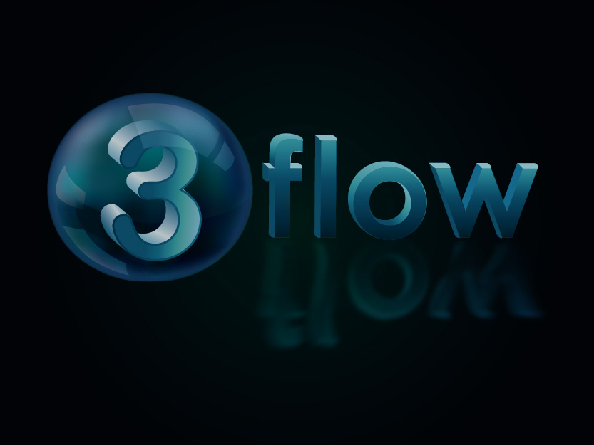 Logo Design by Private User - Entry No. 153 in the Logo Design Contest Fun Logo Design for 3flow.