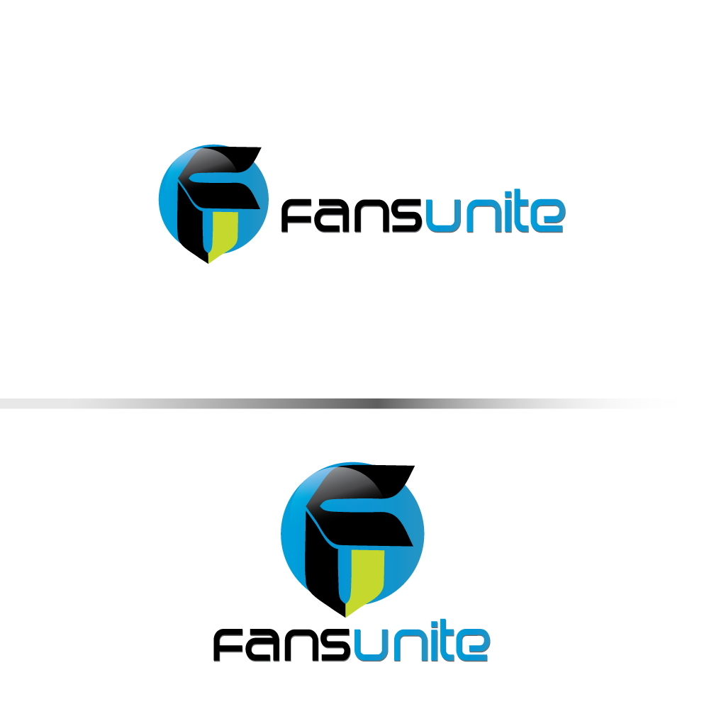 Logo Design by rockin - Entry No. 42 in the Logo Design Contest Logo Design Needed for Exciting New Company FansUnite.