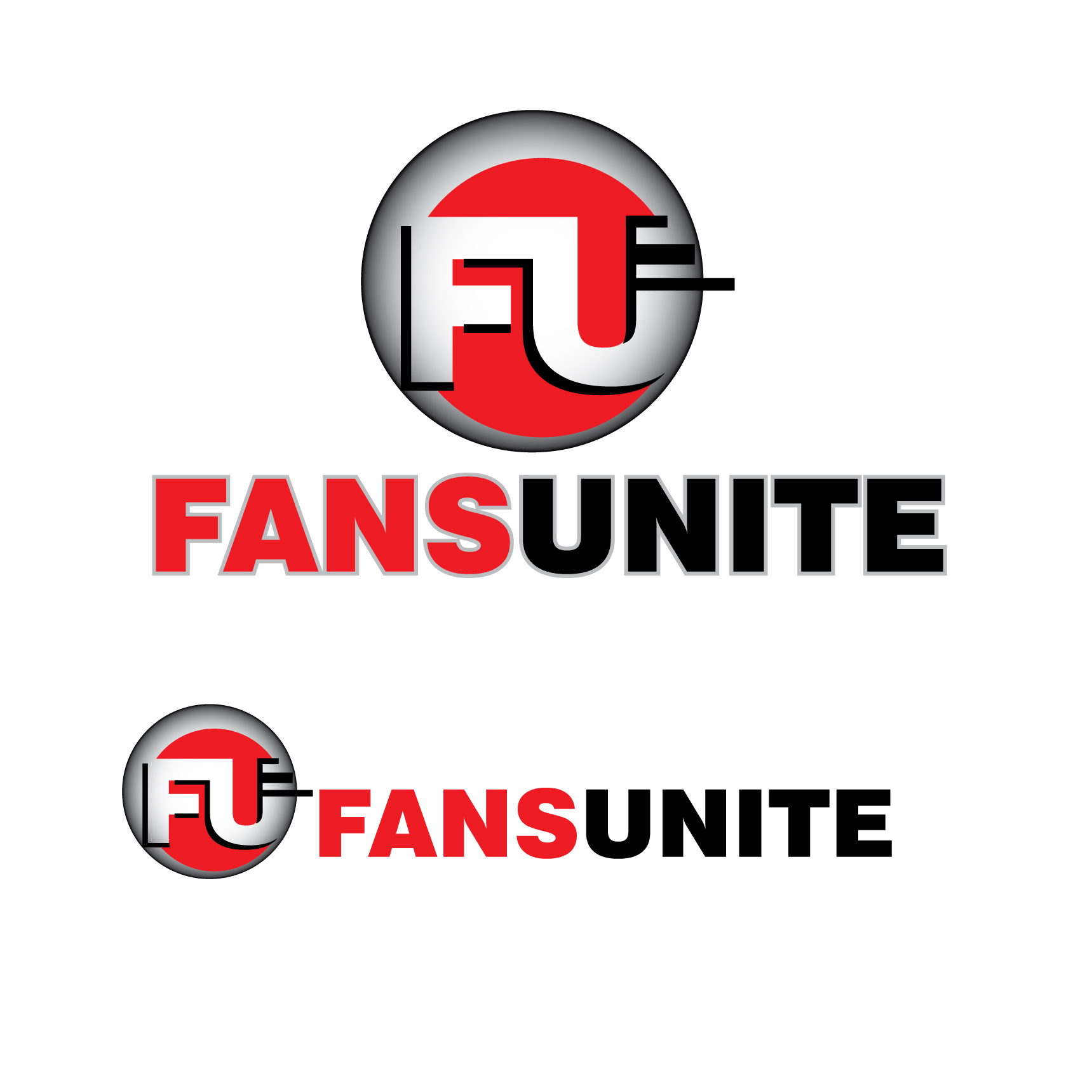 Logo Design by stormbighit - Entry No. 76 in the Logo Design Contest Logo Design Needed for Exciting New Company FansUnite.