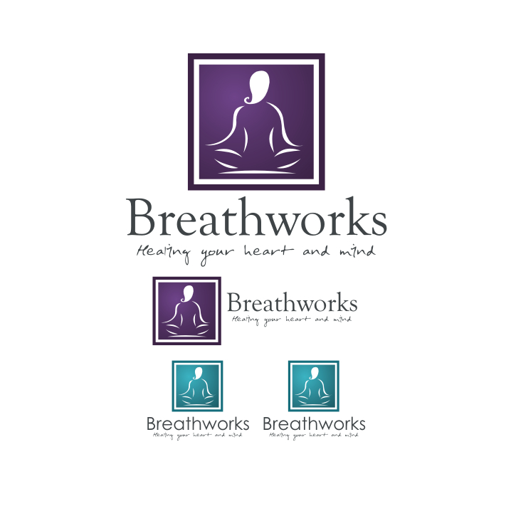 Logo Design by Rendra Jannu - Entry No. 63 in the Logo Design Contest New Logo Design for Breathworks.