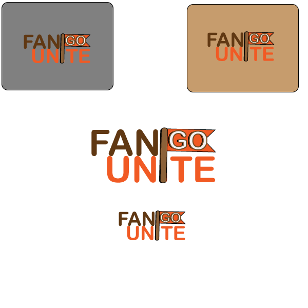 Logo Design by designabby - Entry No. 104 in the Logo Design Contest Logo Design Needed for Exciting New Company FansUnite.