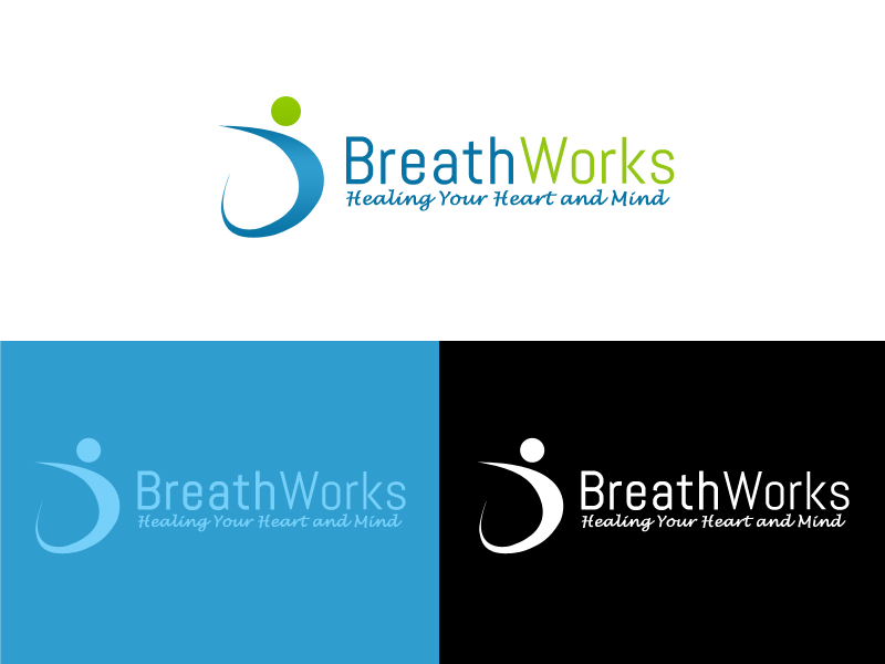 Logo Design by carell - Entry No. 85 in the Logo Design Contest New Logo Design for Breathworks.