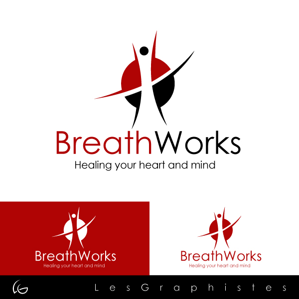 Logo Design by Les-Graphistes - Entry No. 92 in the Logo Design Contest New Logo Design for Breathworks.