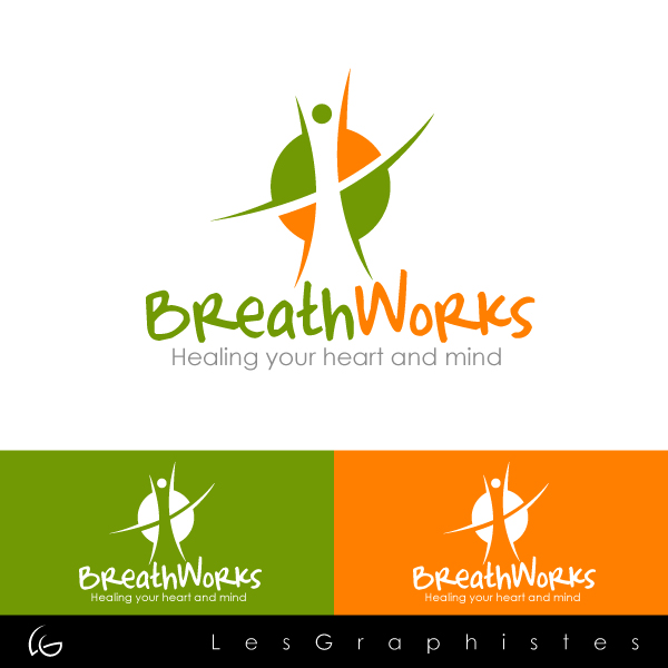 Logo Design by Les-Graphistes - Entry No. 93 in the Logo Design Contest New Logo Design for Breathworks.