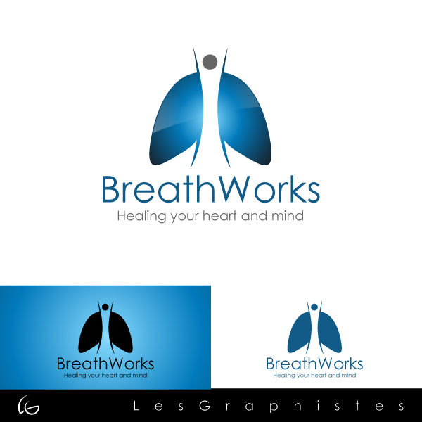 Logo Design by Les-Graphistes - Entry No. 95 in the Logo Design Contest New Logo Design for Breathworks.