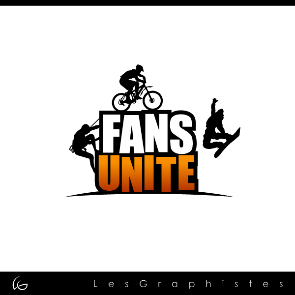 Logo Design by Les-Graphistes - Entry No. 108 in the Logo Design Contest Logo Design Needed for Exciting New Company FansUnite.
