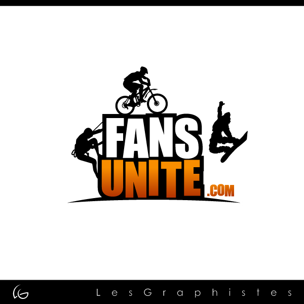 Logo Design by Les-Graphistes - Entry No. 109 in the Logo Design Contest Logo Design Needed for Exciting New Company FansUnite.