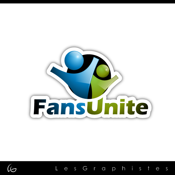 Logo Design by Les-Graphistes - Entry No. 110 in the Logo Design Contest Logo Design Needed for Exciting New Company FansUnite.