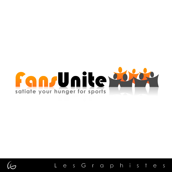 Logo Design by Les-Graphistes - Entry No. 111 in the Logo Design Contest Logo Design Needed for Exciting New Company FansUnite.