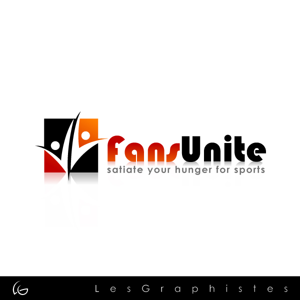 Logo Design by Les-Graphistes - Entry No. 112 in the Logo Design Contest Logo Design Needed for Exciting New Company FansUnite.