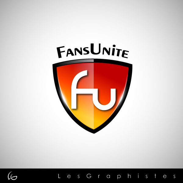 Logo Design by Les-Graphistes - Entry No. 113 in the Logo Design Contest Logo Design Needed for Exciting New Company FansUnite.