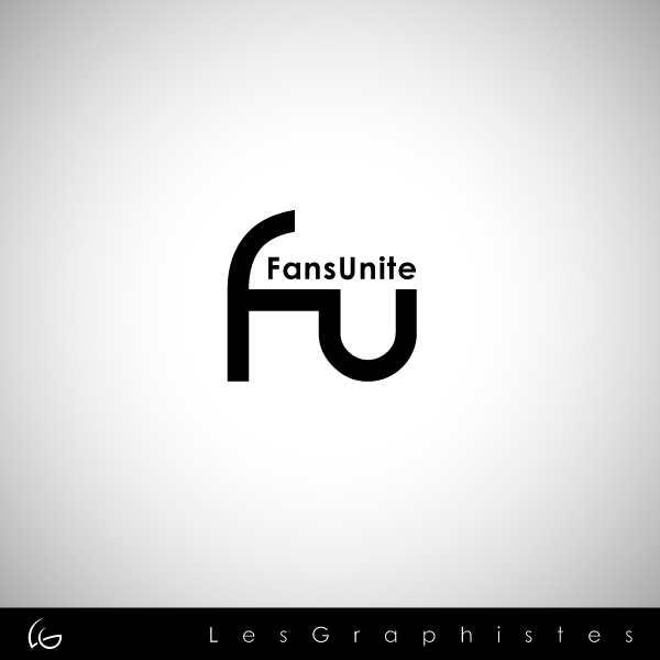 Logo Design by Les-Graphistes - Entry No. 115 in the Logo Design Contest Logo Design Needed for Exciting New Company FansUnite.