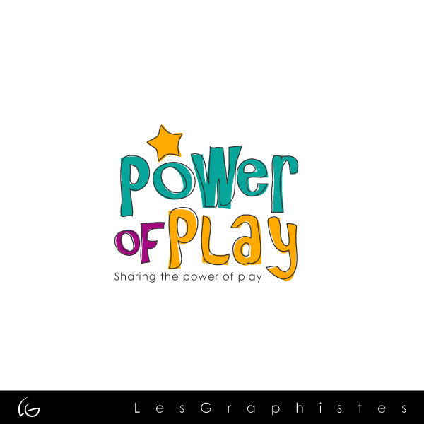 Logo Design by Les-Graphistes - Entry No. 17 in the Logo Design Contest Power Of Play Logo Design.