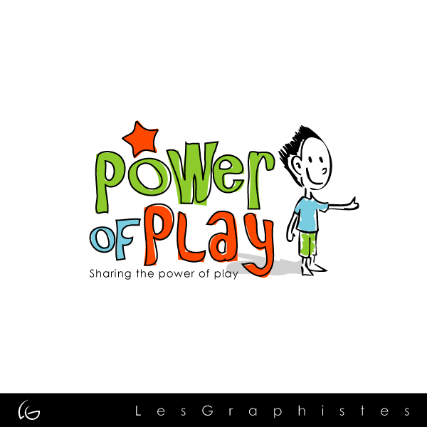 Logo Design by Les-Graphistes - Entry No. 18 in the Logo Design Contest Power Of Play Logo Design.