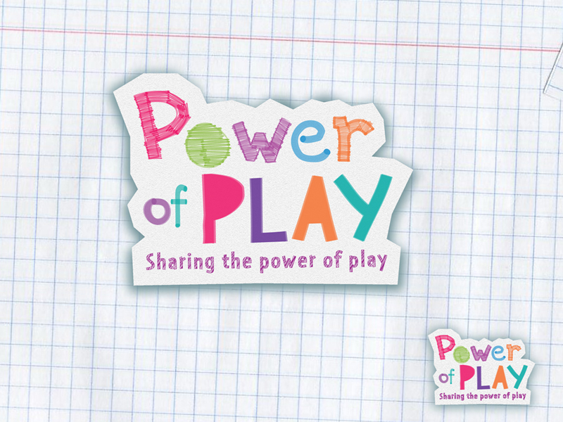 Logo Design by Niki_e_Z - Entry No. 20 in the Logo Design Contest Power Of Play Logo Design.