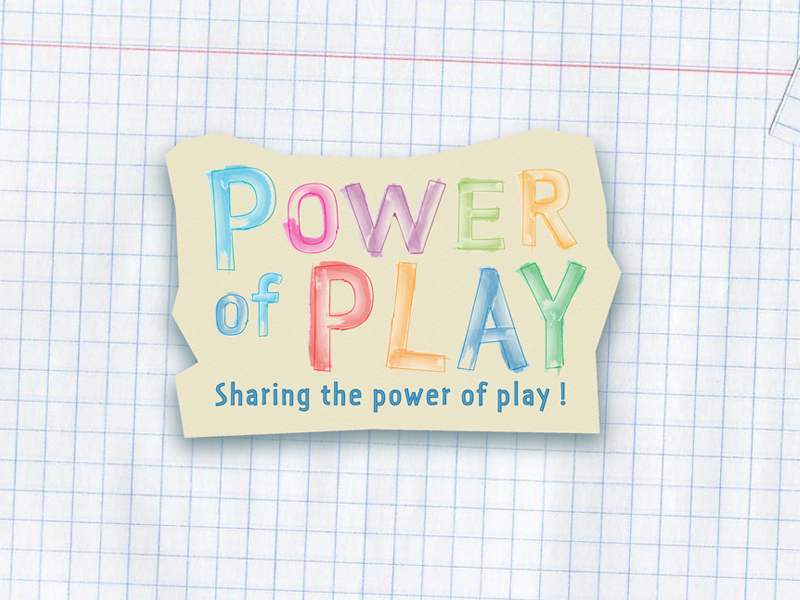 Logo Design by Niki_e_Z - Entry No. 21 in the Logo Design Contest Power Of Play Logo Design.