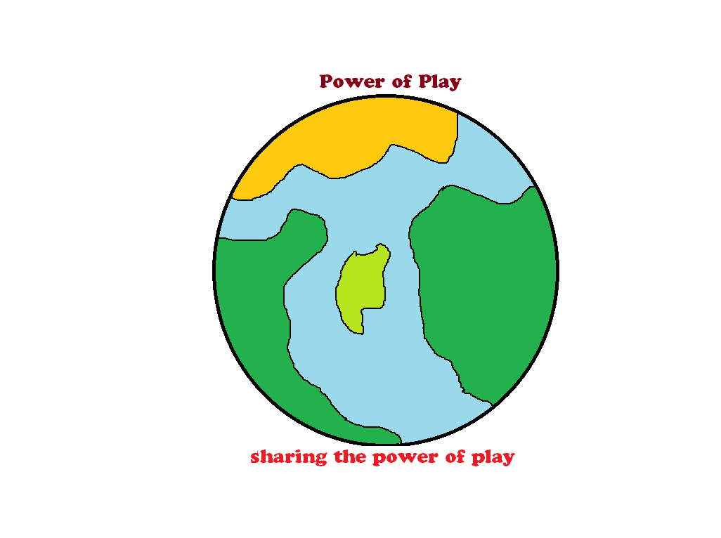 Logo Design by Cristina Alzona - Entry No. 26 in the Logo Design Contest Power Of Play Logo Design.