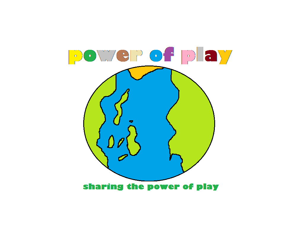 Logo Design by Cristina Alzona - Entry No. 27 in the Logo Design Contest Power Of Play Logo Design.