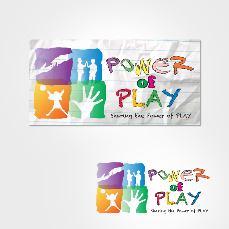 Logo Design by storm - Entry No. 40 in the Logo Design Contest Power Of Play Logo Design.