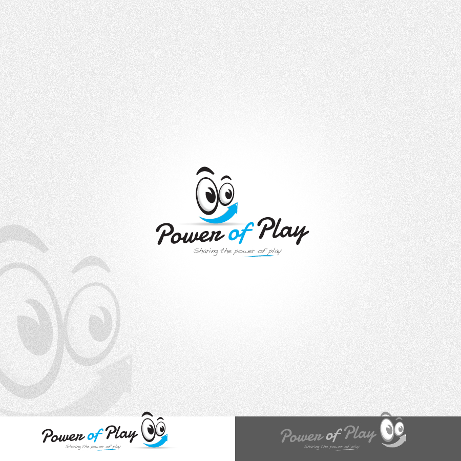 Logo Design by rockpinoy - Entry No. 51 in the Logo Design Contest Power Of Play Logo Design.