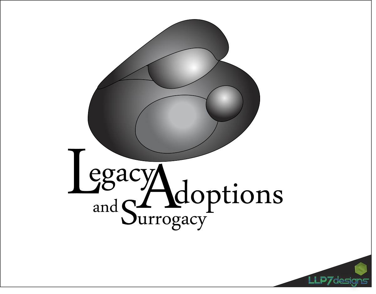 Logo Design by LLP7 - Entry No. 1 in the Logo Design Contest Legacy Adoptions and Surrogacy Logo Design.