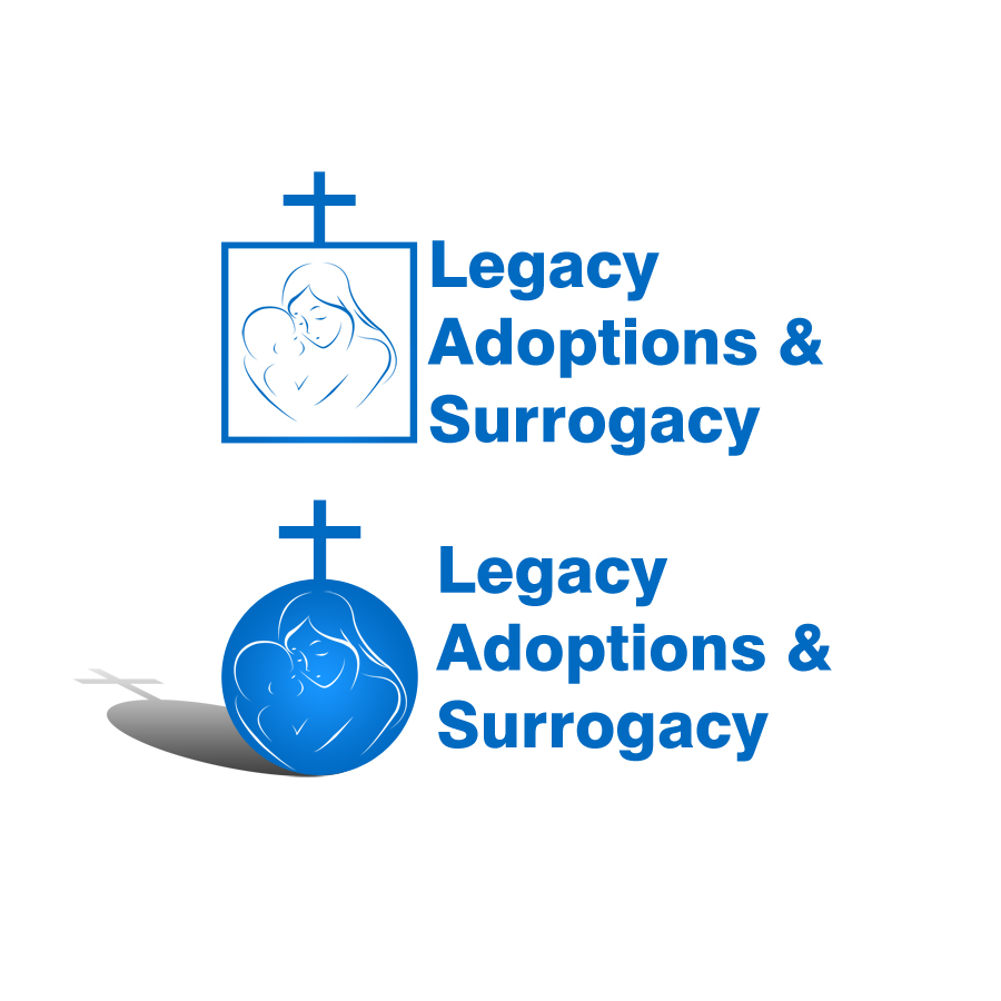 Logo Design by JohnLouie Binas - Entry No. 2 in the Logo Design Contest Legacy Adoptions and Surrogacy Logo Design.