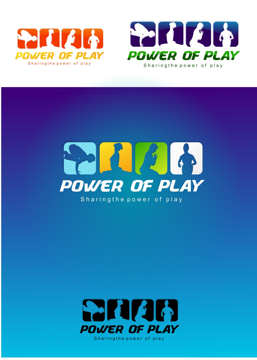 Logo Design by Private User - Entry No. 74 in the Logo Design Contest Power Of Play Logo Design.