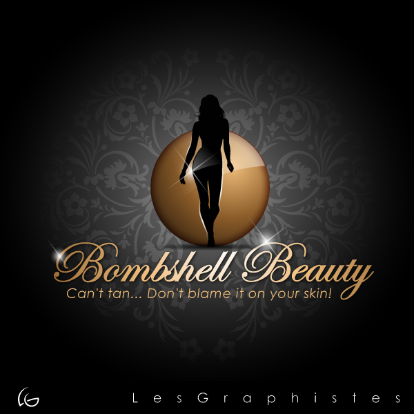 Logo Design by Les-Graphistes - Entry No. 14 in the Logo Design Contest Logo Design Needed for Exciting New Company Bombshell Beauty.